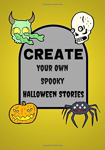 ky Halloween Stories: Lined Blank Halloween Book for Kids, 100 Pages, Full Moon Yellow (Halloween Crafts) ()