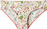 Amante Women's Tropical Print Bikini Panty at amazon