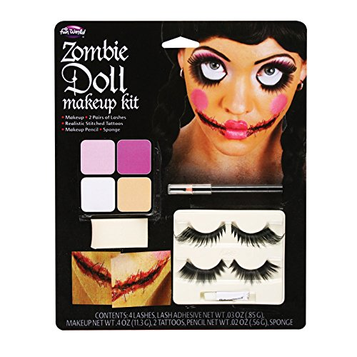 Broken Doll Makeup Kit Halloween Face Paint Fancy Dress