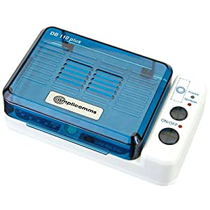 Amplicom DB 110+ Trocknungsbox für Hörgeräte mit eingebautem Batterietester