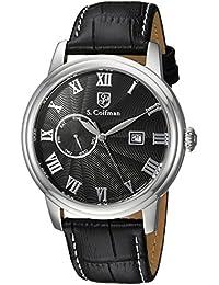 S.Coifman SC0387 - Reloj de pulsera hombre, color Negro
