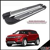 Schwellerrohre Aluminium Trittbretter für Range Rover Evoque 2012> Pyramid (173)