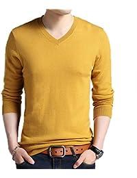 Suéter De Cuello Redondo De Moda Para Hombre Jersey De Jersey De Punto Grueso Grueso Para Niño Multicolor
