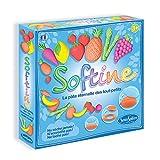 Sentosphère- SOFTINE Fruits & Légumess, 8751, Bleu