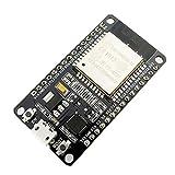 SeeKool Placa de desarrollo 2.4GHz WiFi + Bluetooth procesador de microprocesador de doble núcleo integrado con antena AMP Filtro RF AP STA, Ultra bajo consumo 1 pieza