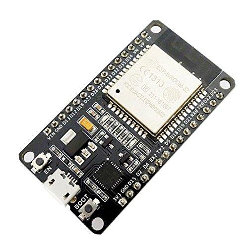 SeeKool ESP8266 ESP-32 ESP-32S Development Board 2,4GHz WiFi + Bluetooth Dual-Core-Mikrocontroller Prozessor Integriert mit Antenne HF-AMP-Filter AP STA, Ultra Low Power, Verlötet