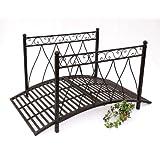 Design toscano dc120931 metal garden lovers bridge amazon for Metal garden bridge designs