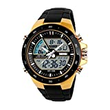 SKMEI 1016 Zeiger Digital LED Dual Display Herrenuhr Casual Military Watch Männer Outdoor Sports Uhr Wasserdichte Männliche Uhr