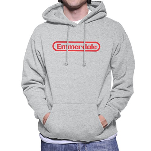 Coto7 EMMERDALE Nintendo Mix Logo Men's Hooded Sweatshirt