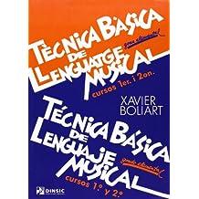 Técnica básica de lenguaje musical 1-2