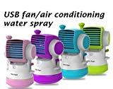 #4: Shag Primiume Quality air conditioner cooling fan Humidifier mini usb cooler fan