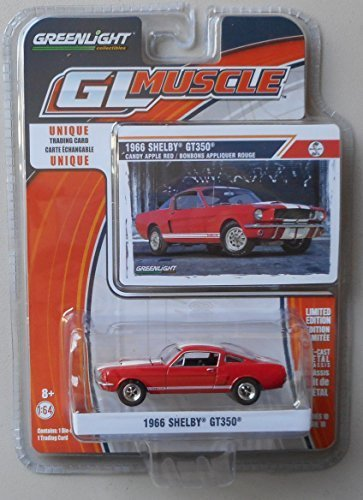 GreenLight 1966 Shelby GT350 candy apple red series 10 by Greenlight