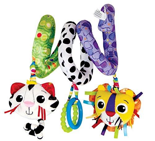 Lamaze Baby Spielzeug Activity Spirale mehrfarbig    Hochwertiges Kleinkindspielzeug zur Förderung der Motorik    Ideal für Kinderwagen, Kinderbett & Maxi Cosi    ab 0 Monate