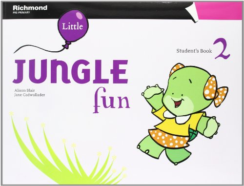LITTLE JUNGLE FUN 2 STUDENT'S PACK