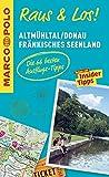 MARCO POLO Raus & Los! Altmühltal, Donau, Fränkisches Seenland: Das Package für unterwegs: Der Erlebnisführer mit großer Erlebniskarte -