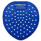 Urinalsieb Hygienical, Pissoir-Einsatz, Urinaleinsatz parfümiert im SET, Farbe:blau, Größe:20