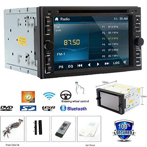 Monitor Car Stereo Autoradio In Deck RDS Universale 2 DIN BT di musica Car DVD Player Radio Automotive Audio Video motorizzato Sub AMP Telecomando logo TV