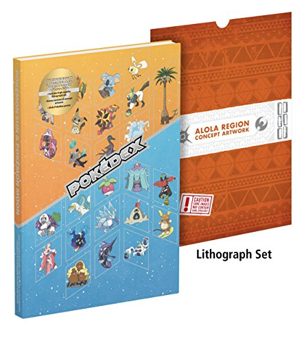 Pokémon Sun and Pokémon Moon: The Official Alola Region Collector's Edition Pokédex & Postgame Adventure Guide (Elektronische Pokemon Pokedex)