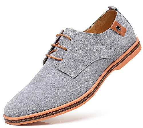 CAGAYA Hombre Zapatos Oxford Cordones Informal Negocios Boda Calzado Estilo Británico Comodidad Derby...
