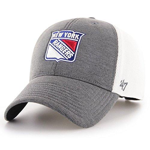 47 Brand Adjustable Cap - Haskell New York Rangers Charcoal