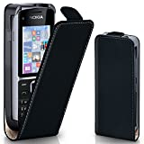 OneFlow PREMIUM - Flip-Case - for Nokia C2-01 - DEEP-BLACK