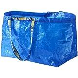 Ikea 172.283.40 Frakta Shopping Bag, Large, Blue, Set of 5