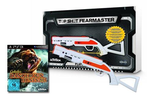 Cabela's Dangerous Hunts 2013 Bundle inkl. Top Shot Fearmaster Gun (Top Ps3 Gun)