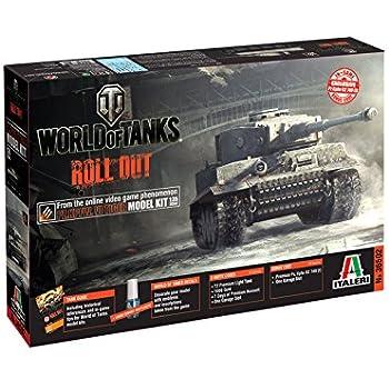 Italeri - I36502 - Tiger I World Of Tanks