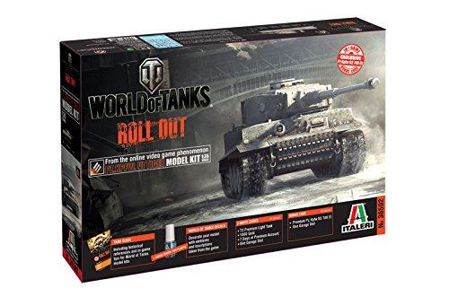 Italeri 510036502 - 1:35 Panzerkampfwagen VI Tiger World of Tanks -