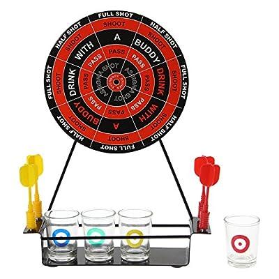 Darts Drinking Game Pour Adultes Magnétique Plateau Fléchettes & Shooter Set