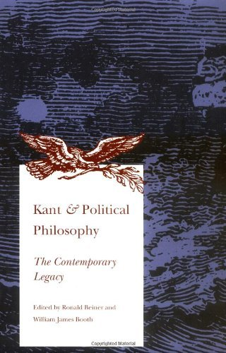 Kant and Political Philosophy: The Contemporary Legacy by Ronald Beiner (2009-09-04)