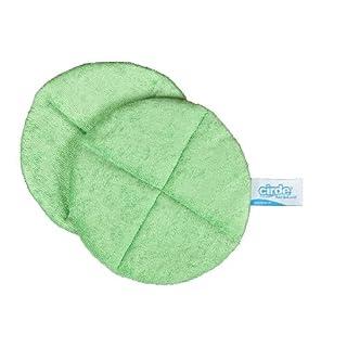 BELLANET Microfaser Scheuer-PAD | speziell entwickelt zur gründlichen Reinigung von Badarmaturen| Mikrofasertücher in Profiqualität für Bad, Armaturen und Haushalt | Set 3 Stück