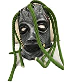 SLIPKNOT - Corey hecho a medida látex con Rastas Estilo Máscara - Universal Talla