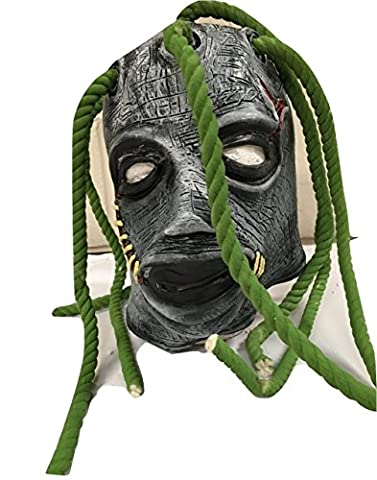 Slipknot - Corey Taylor Latex With Dreadlocks Style Mask -