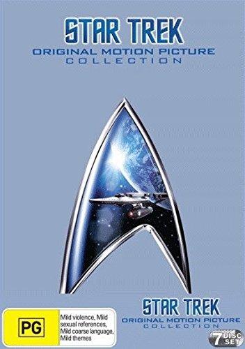 Star Trek Movies Original Motion Picture Collection I - VI Boxset (DVD,7-Disc Set) (Star Motion Picture Trek-the)
