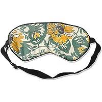 Comfortable Sleep Eyes Masks Sunflower Pattern Sleeping Mask For Travelling, Night Noon Nap, Mediation Or Yoga E2 preisvergleich bei billige-tabletten.eu