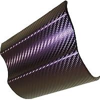 Finest Folia 10,56/€//m/² 100 x 152cm GS01 3D Matrix Purple Cham/äleon Folie BLASENFREI Luftkan/äle Auto Folieren