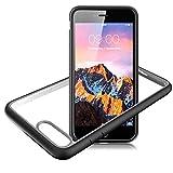 Slynmax Coque iPhone 8 Plus Noir Coque iPhone 7 Plus Housse Luxe Transparente Souple...