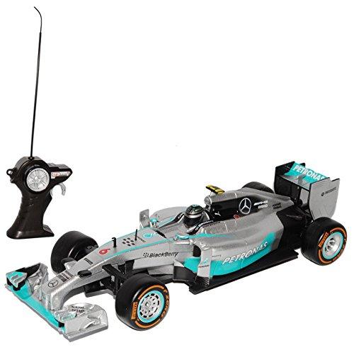 Maisto Mercedes-Benz AMG F1 W05 Nico Rosberg Nr 6 Formel 1 2014 40 MHz RC Funkauto 1/24 Modell Auto*