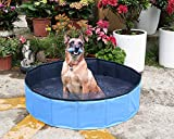 Yidarton Swimming Pool für Hunde Hundepool Doggy Pool Badewanne Pool Umweltfreundliches PVC...