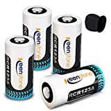 Wiederaufladbare Arlo Akkus, 3.7V 750mAh Lithium Arlo Batterien mit Silkon Hülle Batterie Gehäuse für Netgear Arlo Kamera VMC3030/3230/3330/3430 (# 4 Stücke)