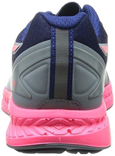 Puma Ignite women Running Shoes Fitness Jogging 188077 01 grey pink grau/pink