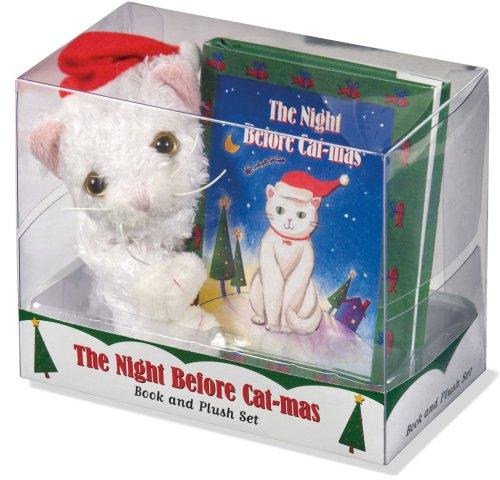 The Night Before Cat-Mas [With Plush] (Petite Plush Kit Series) -