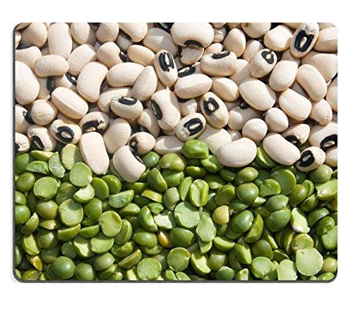 pad Lebensmittel Getränke Legumes Lebensmittel Hintergrund mit getrockneten schwarz Eyed Bohnen und Grün Erbsen Bild-ID 7075774 (Bilder Von Erbse)