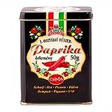 Paprika piccante ungherese da Kalocsa in confezione regalo 50g - Selezionata a mano - Qualità Premium
