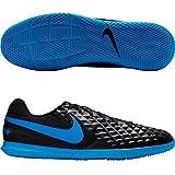 Nike Unisex-Erwachsene Tiempo Legend 8 Club Ic Fußballschuhe, Mehrfarbig (Black/Blue Hero 4), 44 EU