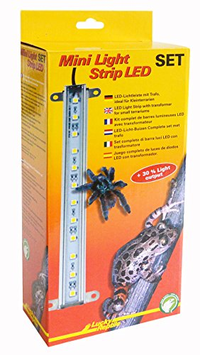 Lucky Reptile MLS-1 Mini Light Strip LED Komplettset, Lichtleiste inklusive Trafo -