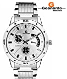 Geonardo's Topper Silver dial watch For Boys-GDM123