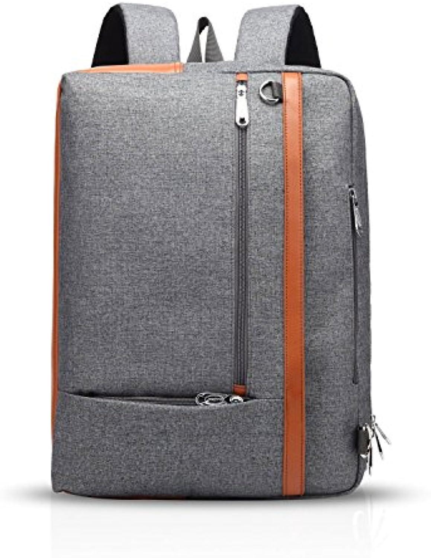 ZMLSXU Business Rucksack Fashion Rucksack Tasche Diagonal Bag Drei in Einem Rucksack Männer und Frauen Wasserdicht