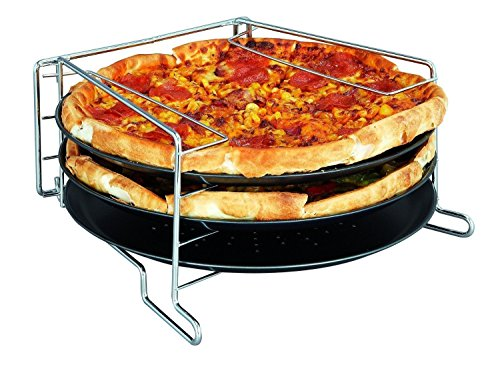4-piece-pizza-baking-set-serving-plate-tray-tin-oven-grill-rack-non-stick-trays